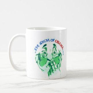 SICK of OBAMA Coffee Mug