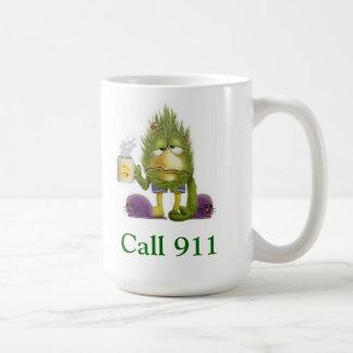 Sick Person Alert!!! Classic White Coffee Mug