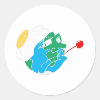 sick planet stickers