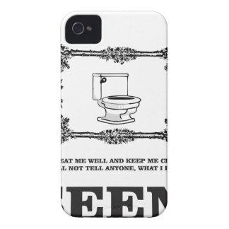 sick potty humor iPhone 4 case