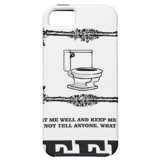 sick potty humor iPhone SE/5/5s case