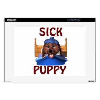 Sick Puppy Laptop Skin