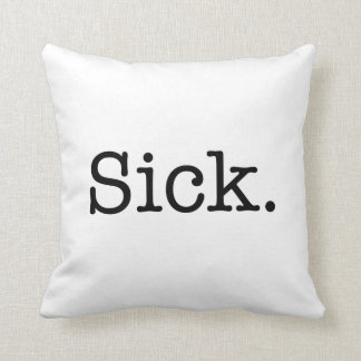 Sick Quote Pillows