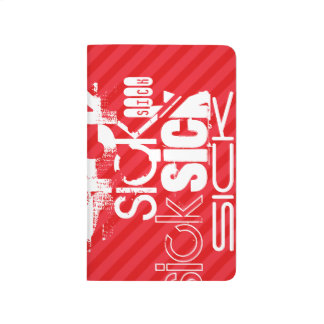 Sick; Scarlet Red Stripes Journal