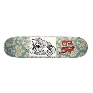 sick skateboard