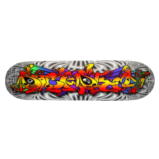 SICK STICK 01 ~ Graffiti Art Pro Skateboard Deck