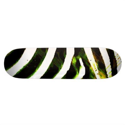 Sick Stripes Skateboard