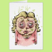 Sick Woman Card