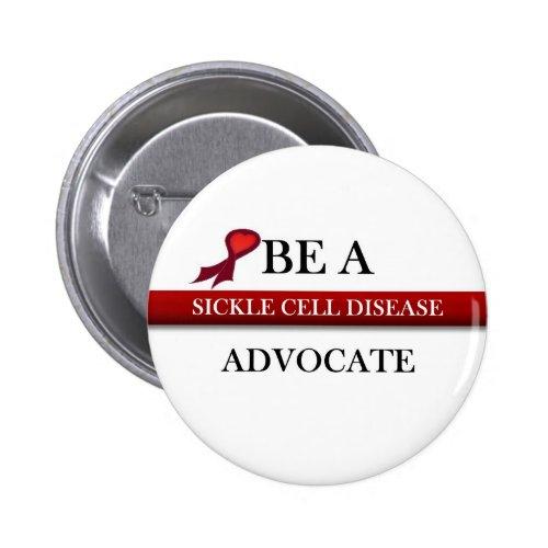 Sickle Cell Advocate Button