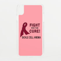 Sickle Cell Anemia Awareness: Fight, Cure! iPhone XS Max Case