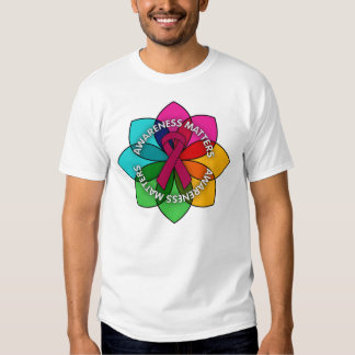 Sickle Cell Anemia Awareness Matters Petals Shirt