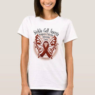 Sickle Cell Anemia Butterfly 3 T-Shirt