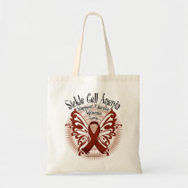 Sickle Cell Anemia Butterfly 3 Tote Bag