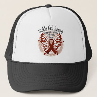 Sickle Cell Anemia Butterfly 3 Trucker Hat