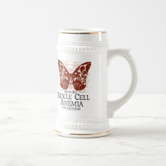 Sickle Cell Anemia Butterfly Beer Stein