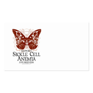 Sickle Cell Anemia Butterfly Business Card