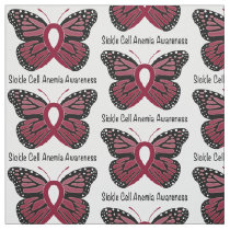 Sickle Cell Anemia Butterfly of Hope Fabric