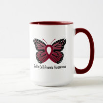 Sickle Cell Anemia Butterfly of Hope Mug