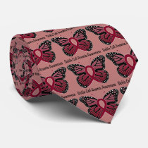 Sickle Cell Anemia Butterfly of Hope Neck Tie