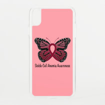 Sickle Cell Anemia Butterfly of Hope iPhone XS Max Case