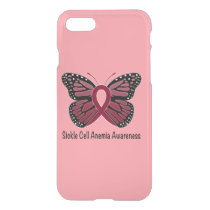 Sickle Cell Anemia Butterfly of Hope iPhone 8/7 Case