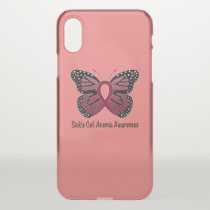 Sickle Cell Anemia Butterfly of Hope iPhone XS Case