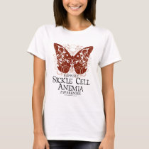 Sickle Cell Anemia Butterfly T-Shirt
