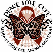 Sickle Cell Anemia Butterfly Tribal Statuette