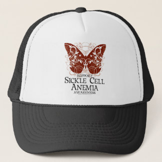 Sickle Cell Anemia Butterfly Trucker Hat