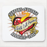 Sickle Cell Anemia Classic Heart Mousepad