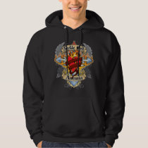 Sickle Cell Anemia Cross & Heart Hoodie