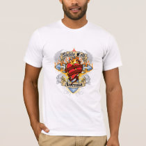 Sickle Cell Anemia Cross & Heart T-Shirt
