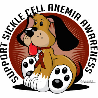 Sickle Cell Anemia Dog Cutout