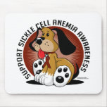 Sickle Cell Anemia Dog Mousepads