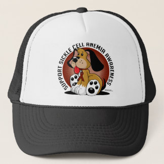 Sickle Cell Anemia Dog Trucker Hat