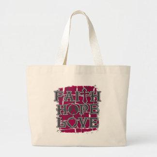 Sickle Cell Anemia Faith Hope Love Bags