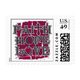 Sickle Cell Anemia Faith Hope Love Postage