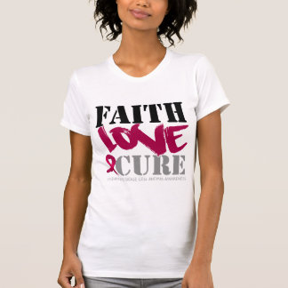 Sickle Cell Anemia Faith Love Cure T Shirts
