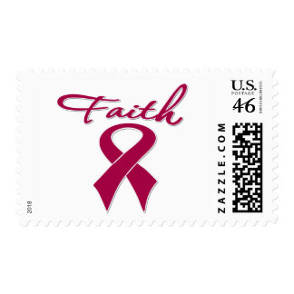 Sickle Cell Anemia Faith Ribbon Stamp