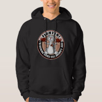Sickle Cell Anemia Fighter Cat Hoodie