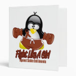 Sickle Cell Anemia Fighting Penguin Binder