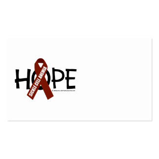 Sickle Cell Anemia Hope Business Card