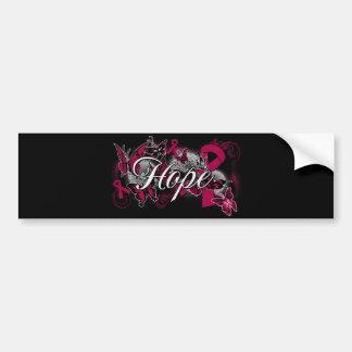 Sickle Cell Anemia Hope Garden Ribbon Car Bumper Sticker