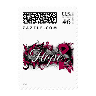 Sickle Cell Anemia Hope Garden Ribbon Stamps