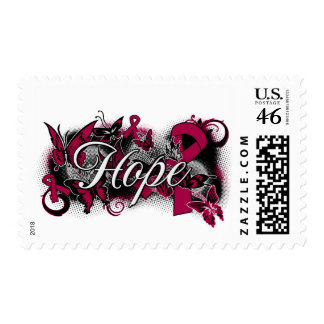 Sickle Cell Anemia Hope Garden Ribbon Postage