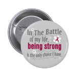 Sickle Cell Anemia In The Battle 2 Inch Round Button