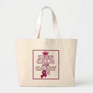 Sickle Cell Anemia Keep Calm and Carry ON Tote Bag