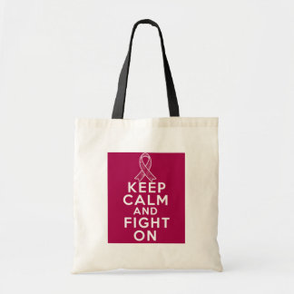 Sickle Cell Anemia Keep Calm and Fight On Tote Bag