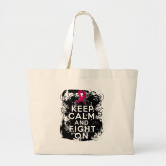 Sickle Cell Anemia Keep Calm and Fight On.png Canvas Bag