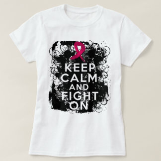 Sickle Cell Anemia Keep Calm and Fight On.png T-shirt